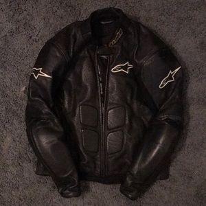 Alpinestars SP1 Armored Leather Motorcycle Jacket